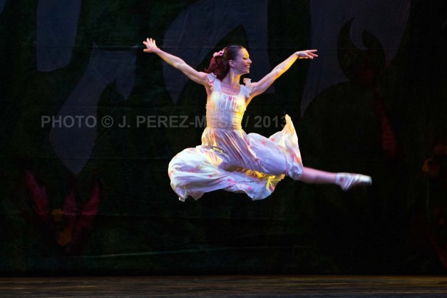 Ana Victoria Friedman is Wendy in CoDa 21's Peter Pan 2013